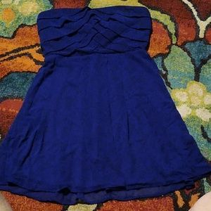 Cobalt blue size Med- large Trixxie dress
